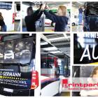 Busbeschriftung Auto Germann