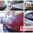 Zugbeschriftung SBB Cargo