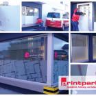 Schaufensterbeschriftung ff Partner GmbH